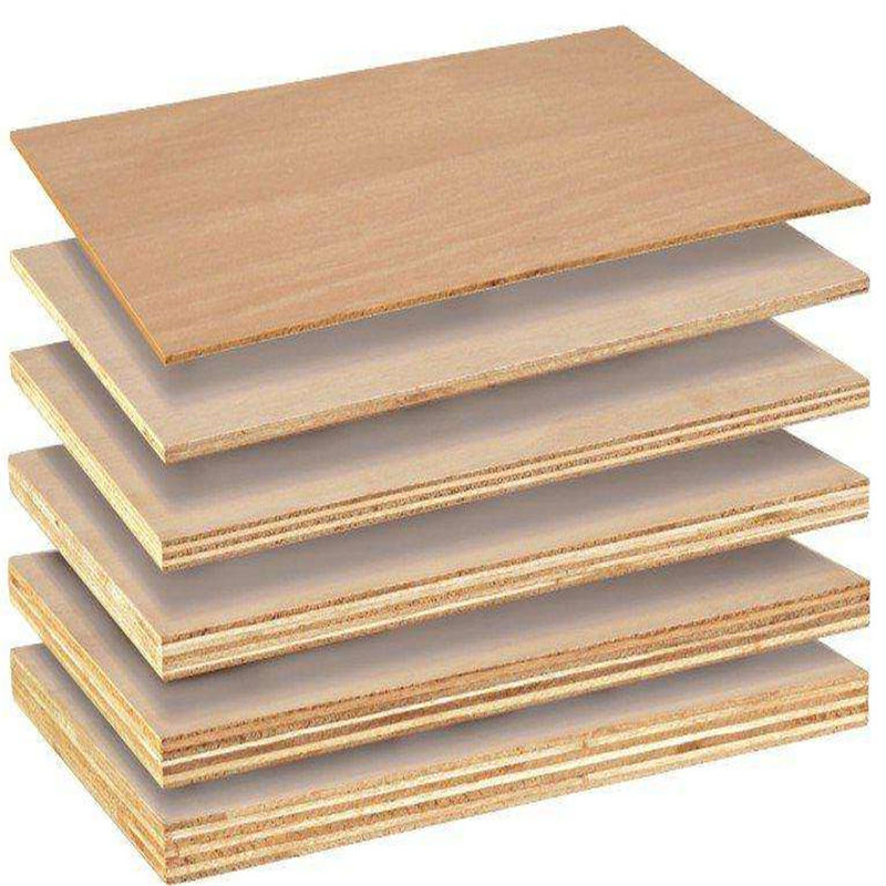 Poplar Core Commercial Grade Plywood For Home Decoration Furniture E1 Glue
