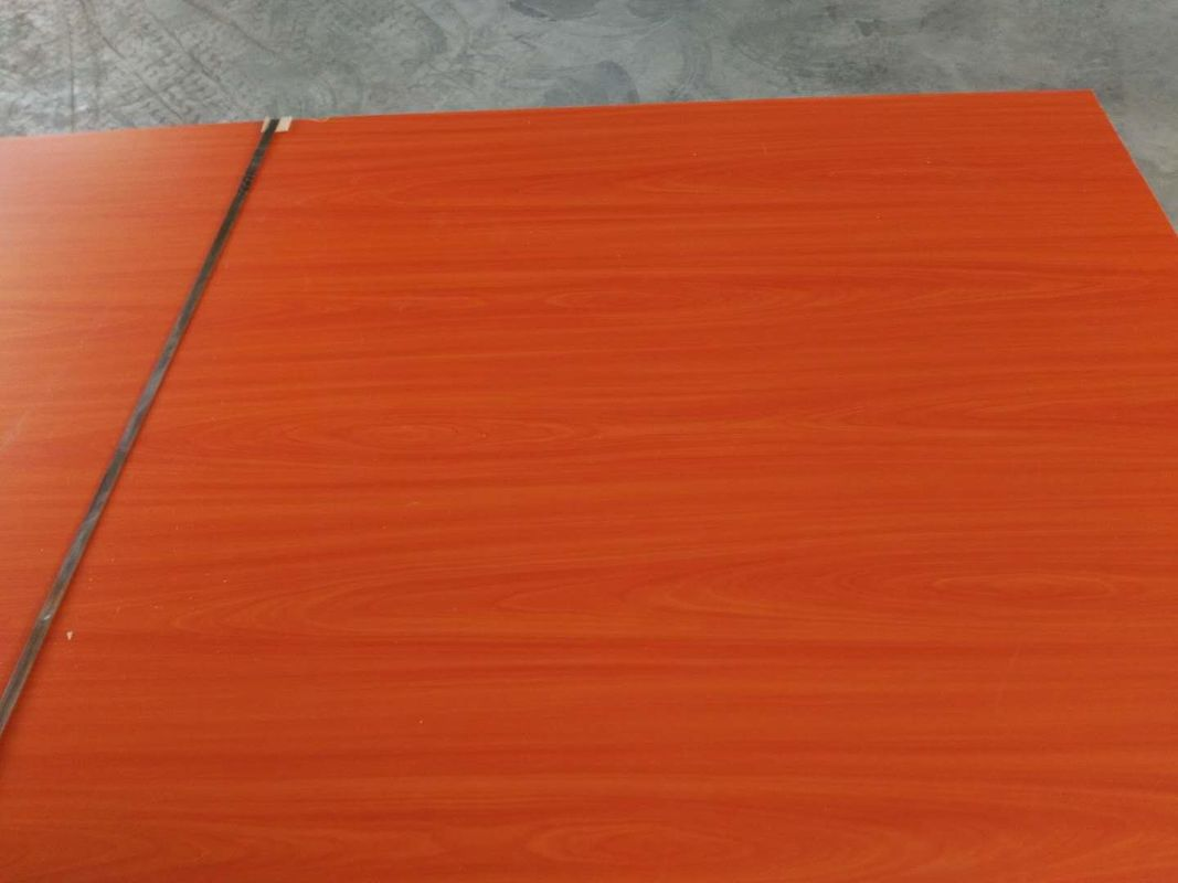 Package Red Oak Veneer Particle Board / Poplar Core Wood Grain Particle Board