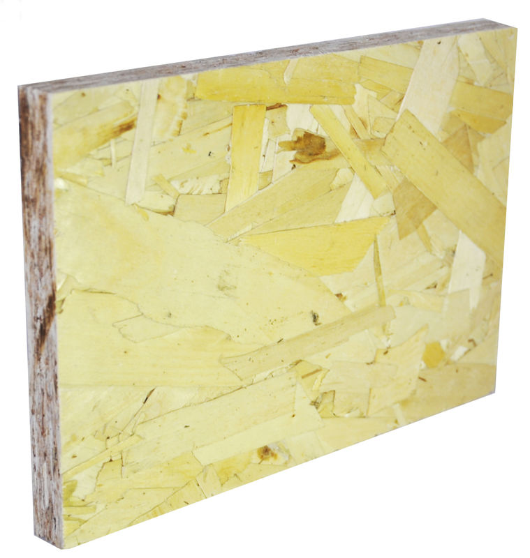 Environmental Protection Oriented Strand Board OSB For Roofing 6-25mm Thickness