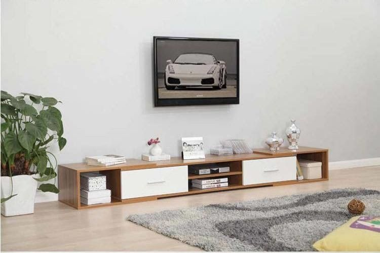 Modern Style Particle Board TV Stand For Living Room Furniture Decor OEM Service