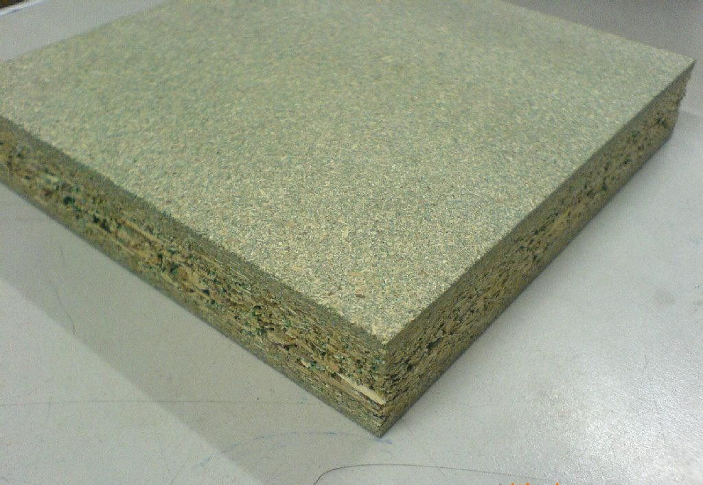 Plant Fiber Water Resistant Particle Board , Sound Insulation Particle Board Wall Panel