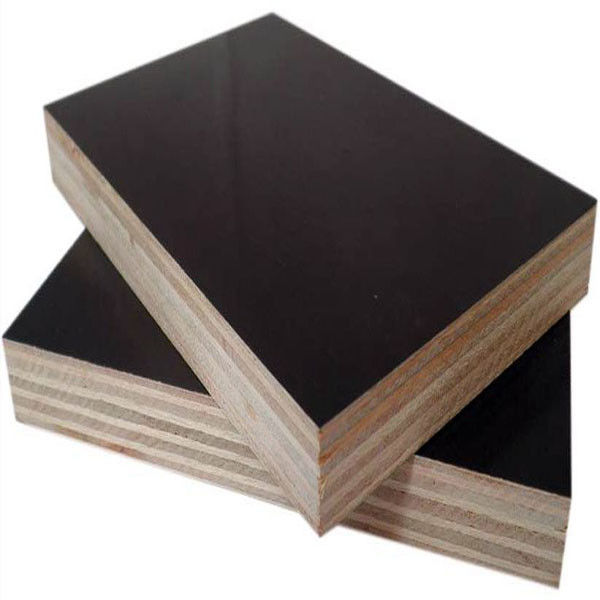 Melamine Glue BB/BB Black Film Coated Plywood , Soundproof Exterior Cedar Plywood Panels