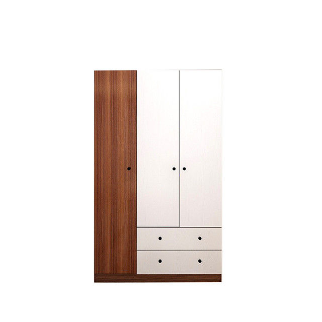 Melamine Bedroom Wall Particle Board Wardrobe Modern Simple Style Design